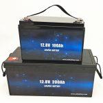 ディープサイクルLiFePO4ソーラーバッテリー12V100Ah / 200Ahゴルフカートリチウムイオンバッテリー