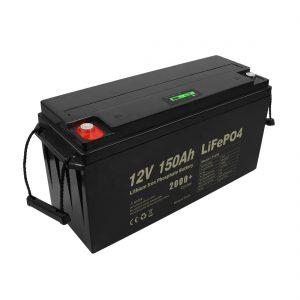 ディープサイクル充電式Lifepo4バッテリー12v150Ah 200Ah 250Ah 300Ah
