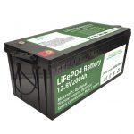 売れ筋2.56KWhlifepo4バッテリー12v200Ah6000サイクルrvバッテリー