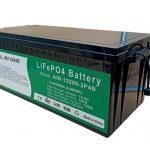 オールインワン2.56KWh2000サイクル12vバッテリー寿命po4電気自動車用200ahリチウムパック