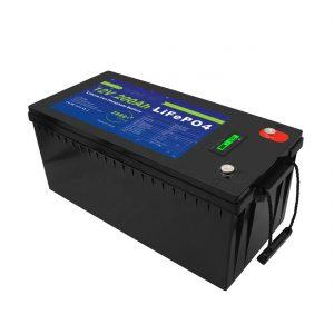 ディープサイクル12V / 24V / 36V / 48V200AhソーラーストレージUPS12vLiFePO4ゴルフカート用リチウムストレージバッテリー