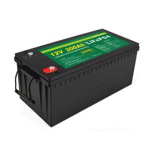 オールインワンリチウムイオンバッテリーディープサイクル12v300AhLiFePo4蓄電池