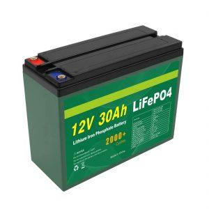 OEMバッテリー充電式12V30Ah4S5Pリチウム2000+ディープサイクルLifepo4セルメーカー