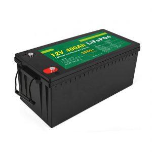 工場価格ディープサイクルソーラーLFPバッテリー12v400AhソーラーLiFePO4バッテリー