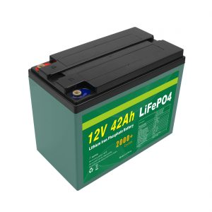 メンテナンスカスタマイズされたソーラー12v40ah 42ah Lifepo4セルLifepo4バッテリーパック(BMS付き)