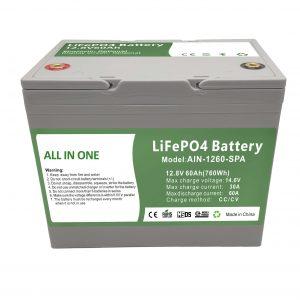 工場販売12.8V60Ahプラスチック家庭用バッテリー2000サイクルlifepo4バッテリー12v家庭用エネルギー