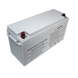 エネルギー貯蔵LiFePO4バッテリー電源用12V80Ahソーラーバッテリー