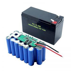 オールインワン186503S5P12ボルトリチウム電池11Ah充電式リチウム電池パック