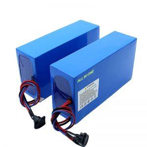 オールインワンセル13S7P18650 48v20.3ah電動自転車バッテリー