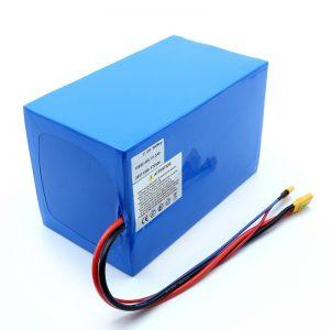 リチウムバッテリー18650 48V 51.2AH 24v 30V 60V 15ah 20Ah 50Ahリチウムイオンバッテリー18650 48V電動スクーター用リチウムイオンバッテリーパック