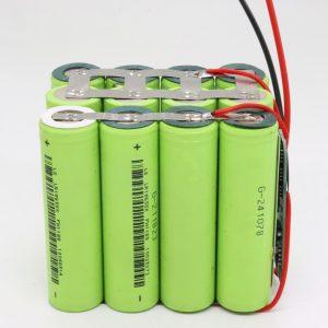 電動工具用の卸売カスタマイズ18650リチウム4s3p防水PCBボードディープサイクルバッテリー12v10AH