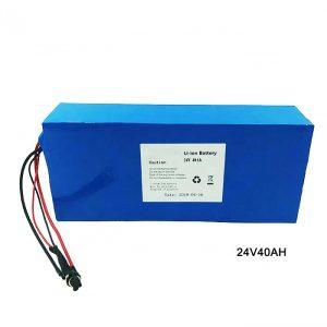 電動自転車自転車24ボルトリチウム電池24V40AhNMCリチウムイオン電池パック充電式電池イオンリチウム