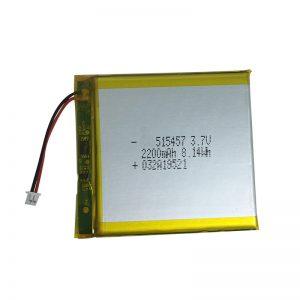 スマートホームデバイス用3.7V 2200mAhポリマーリチウム電池
