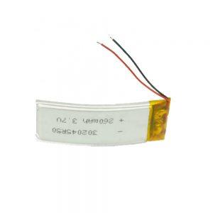 LiPOカスタマイズバッテリー302045 3.7V 260mAh