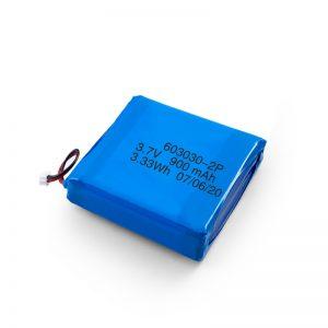 カスタム充電式3.7V450530550700750800900Mah Li-PoLipoバッテリー