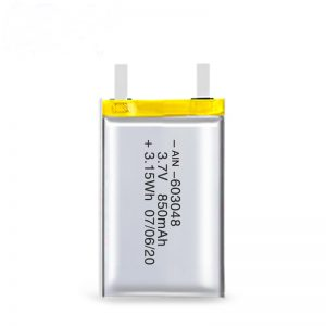 LiPO充電式バッテリー603048 3.7V 850mAh / 3.7V 1700mAH / 7.4V 850mAH