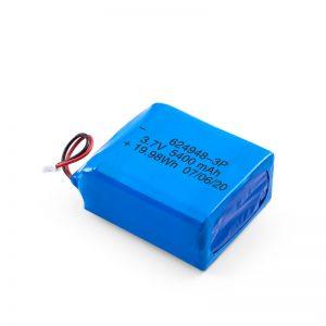 LiPO充電式バッテリー624948 3.7V 1800mAH / 3.7V 5400mAH