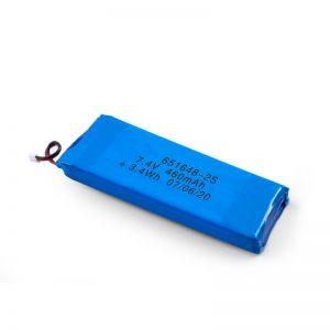 LiPO充電式バッテリー651648 3.7V 460mAh / 3.7V 920mAH / 7.4V 460mAH
