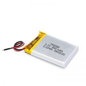 中国卸売3.7V600Mah650Mahミニリチウムポリマーリチウム電池充電式バッテリーパックおもちゃの車用