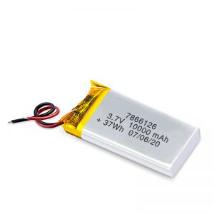 LiPO充電式バッテリー7866120 3.7V 10000mAh / 3.7V 20000mAH / 7.4V 10000mAh