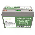 オールインワンディープサイクル12V100AhLiFePO4バッテリー、家庭用エネルギー貯蔵システム用インテリジェントBMS