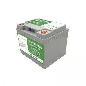 オールインワン2000サイクル12V50AhLiFePO4バッテリー、家庭用エネルギー貯蔵システム用インテリジェントBMS