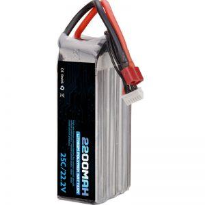 ホットセール充電式リチウムポリマー電池22000mah6sリポ