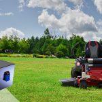 オールインワンの乗馬用芝生バッテリー