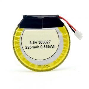 LiPOカスタマイズバッテリー363027 3.7V 225mAH
