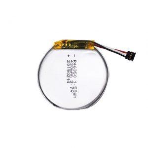 LiPOカスタマイズされたバッテリー46350 3.7V 350mAHスマートウォッチバッテリー46350小さなフラットラウンドリチウムポリマーバッテリーのおもちゃ